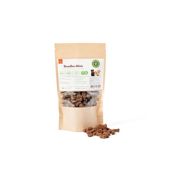 Pets Deli Hundesnack Straußen-Minis Cookies 100g