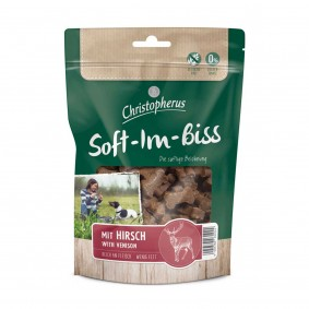 Christopherus Snacks Soft-Im-Biss Mit Hirsch 125 g