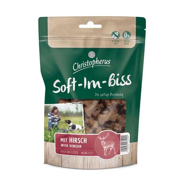 Christopherus Snacks Soft-Im-Biss Mit Hirsch 125 g