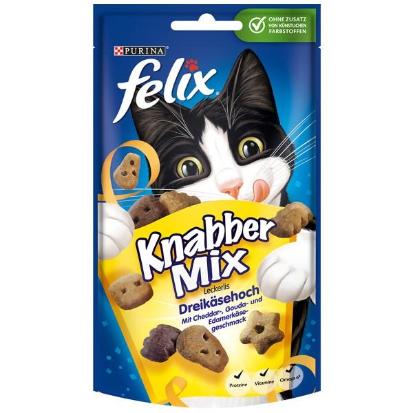 Felix Knabber Mix Dreikäsehoch - 3für2