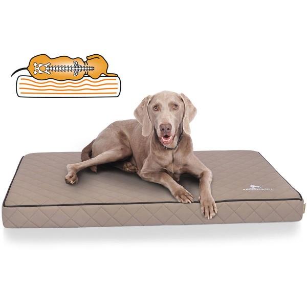 Knuffelwuff orthopädische Hundematte Juna grau
