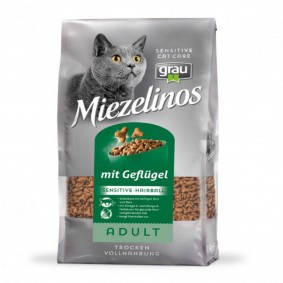 Grau Miezelinos Adult Sensitive/Hairball