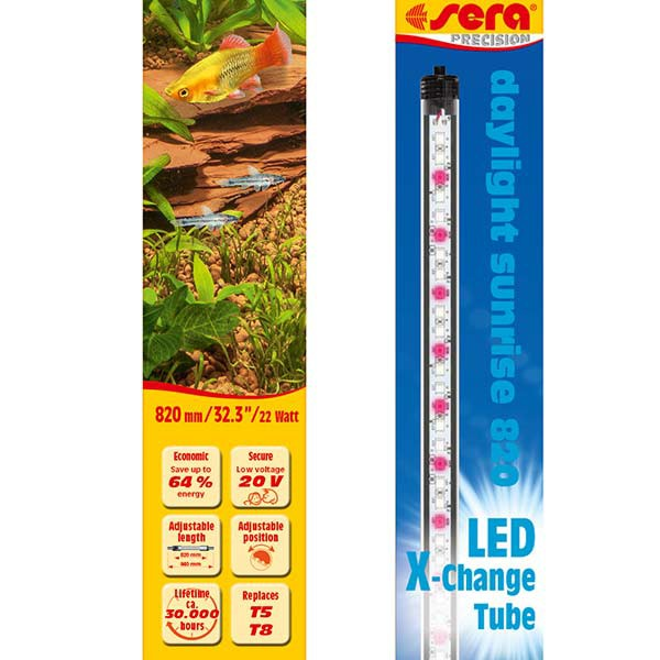 LED X-Change Tubes 820mm - daylight sunrise