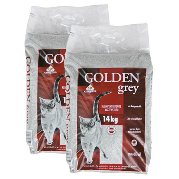 Golden Grey Katzenstreu mit Babypuderduft