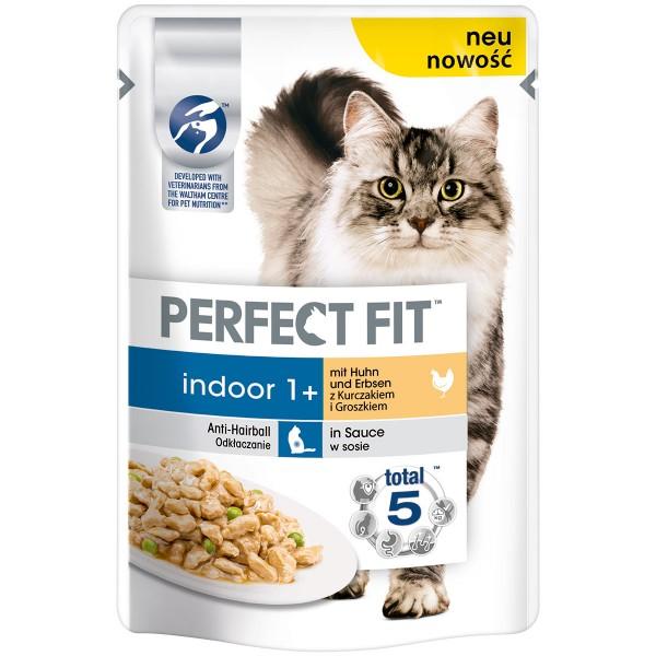 Perfect Fit Katzenfutter Indoor mit Huhn & Erbsen