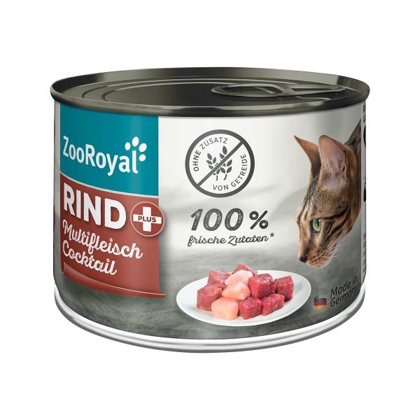 ZooRoyal Rind + Multifleischcocktail 200g
