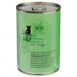catz finefood No. 23 Rind & Ente 400g