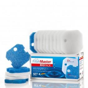 Filtermaster Filtermedien BigPack Set 4 für Eheim Experience und Professionel 1