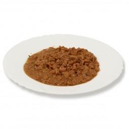 Liebesgut Biokost Senior Katze mit Huhn, Karotten und Reis