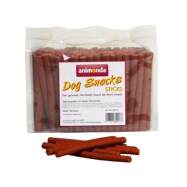 Animonda Dog Snacks Fleischsticks 100 Stück
