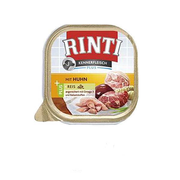 Rinti Kennerfleisch mit Huhn plus Reis