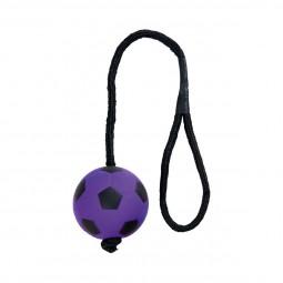 Trixie Neonball am Seil aus Moosgummi ø 6cm/30cm