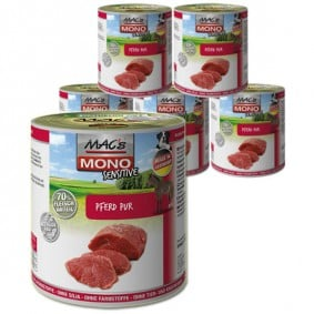 MAC's Dog Mono Hundefutter Sensitiv Pferd Pur