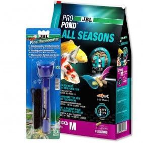 JBL ProPond All Seasons M 4,3kg + Thermometer Gratis