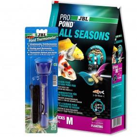 JBL ProPond All Seasons M 5,8kg + Thermometer Gratis
