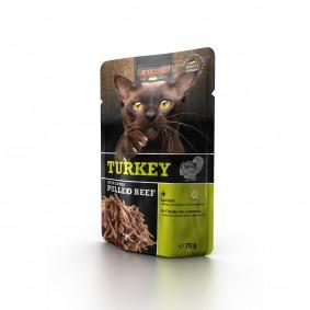 Leonardo Turkey + extra pulled Beef