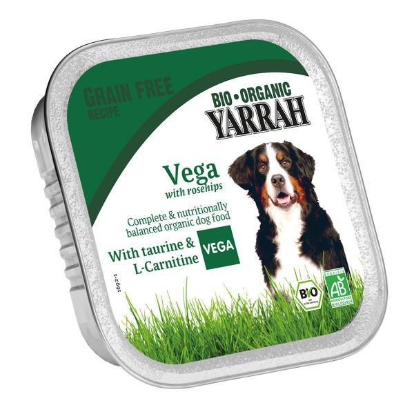 Yarrah Hundefutter Bio Bröckchen Vegetarisch 28x150g