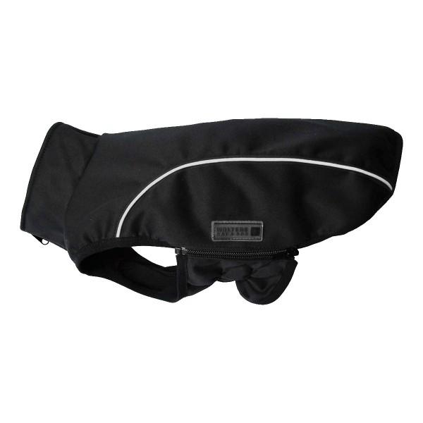 Wolters Softshell Jacke Basic schwarz reflektierend