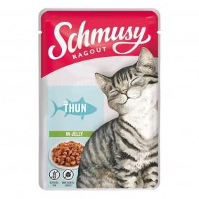 Schmusy Ragout mit Thunfisch in Jelly