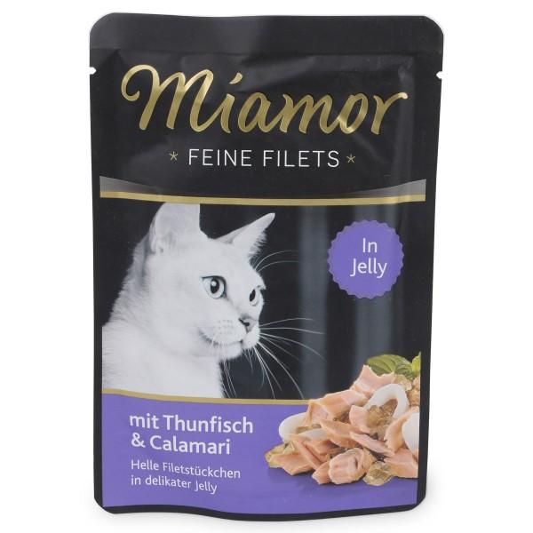 Miamor Feine Filets Thunfisch und Calamari im Frischebeutel
