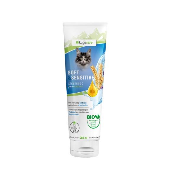 bogacare Shampoo Soft & Sensitive Katze 250 ml