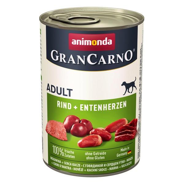 Animonda GranCarno Adult Rind und Entenherzen