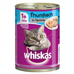 Whiskas Adult 1+ mit Thunfisch in Terrine 12x400g