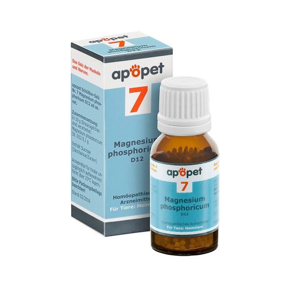 apopet Schüßler Salz Nr. 7 Magnesium phosphoricum D12