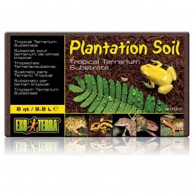 Exo Terra Plantation Soil Substrat pour terrariums 8,8 l
