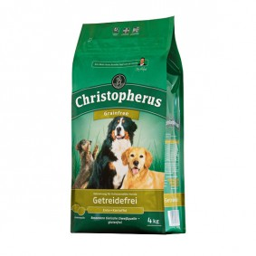 Christopherus Hundefutter Getreidefrei Ente + Kartoffel