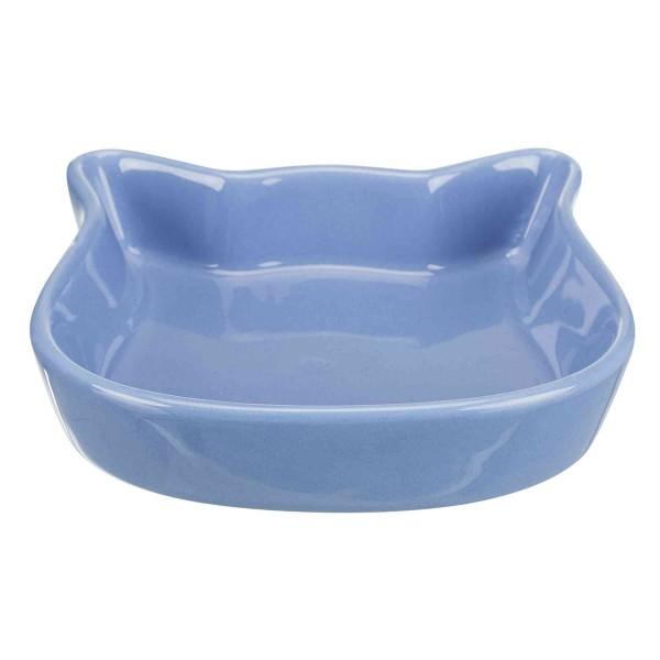 Trixie Keramiknapf Katzenkopf 0,25 L/12 cm