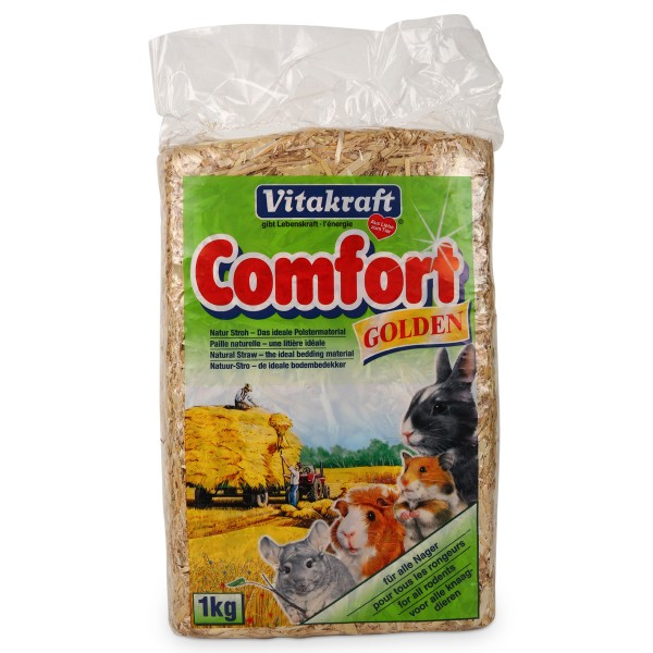 Vitakraft Kleintierstreu Comfort Golden 1kg