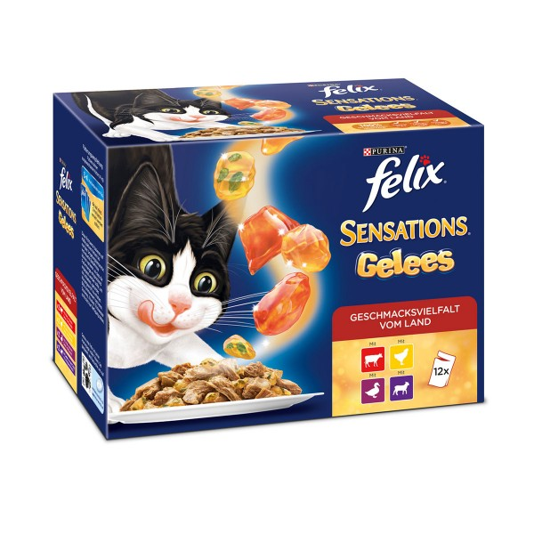 FELIX Sensations Fleisch Mix Multipack 12x100g