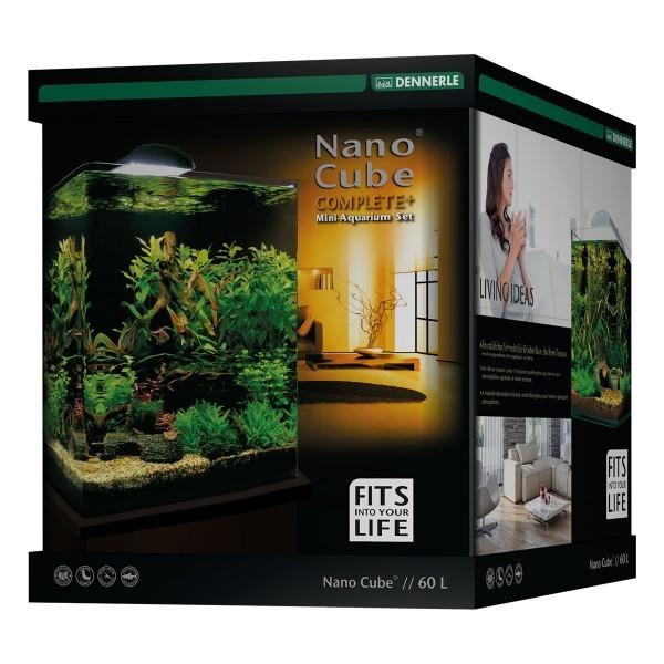 Dennerle NanoCube Complete plus Aquarium complet 60 l