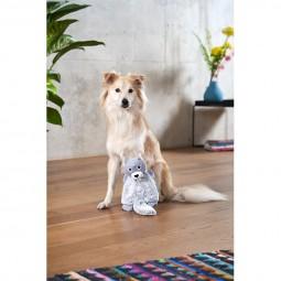 ZooRoyal Hundespielzeug Bieber grau