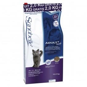 Sanabelle Adult Strauß 10+2kg gratis