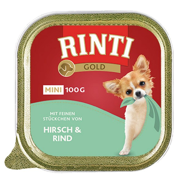 Rinti Gold Mini mit feinen Stückchen Mix 4 Sorten 48x100g