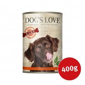 Dog's Love Nassfutter B.A.R.F Rind Pur