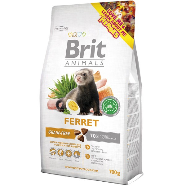 Haustier: Brit Animals Ferret Complete 700g