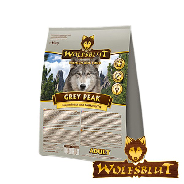 Wolfsblut Grey Peak Adult Ziege & Süßkartoffeln