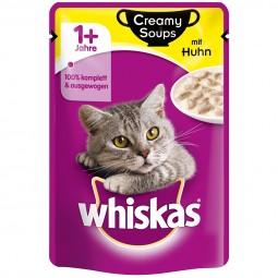 Whiskas Adult 1+ Creamy Soups mit Huhn 28x85g