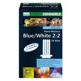 Haasow Angebote Dennerle Nano Marinus Blue/White 2:2 - 24 Watt