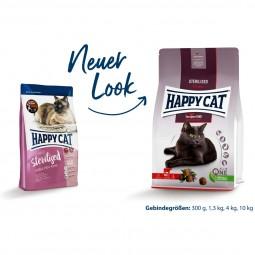 Happy Cat Sterilised Adult Voralpen Rind