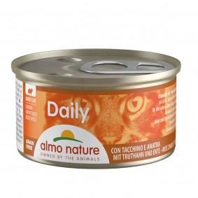 Almo Nature Daily Menü Cat Häppchen mit Truthahn und Ente