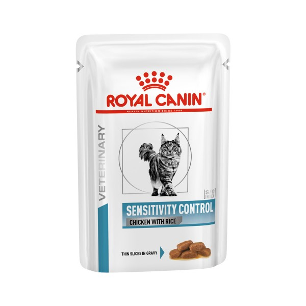 Royal Canin VHN SENSITIVITY CONTROL Cat Huhn und Reis