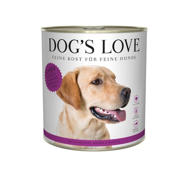 Dog's Love Classic Lamm mit Kartoffel, Kürbis und Marille