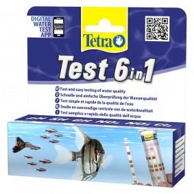 Tetra 6in1 testovací proužky pro sladkou vodu