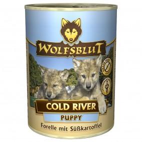 Wolfsblut Cold River se pstruhem