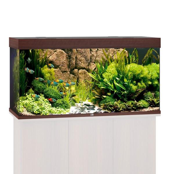Rio 300 Aquarium ohne Schrank - Dunkelbraun