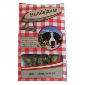 Hundejause Hundesnack Bio JausenHälse 150g